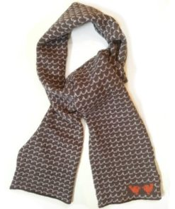 https://www.onemoregift.co.uk/product/Lambswool Scarf- Roddie & Louie- Brown Wave-Scotland