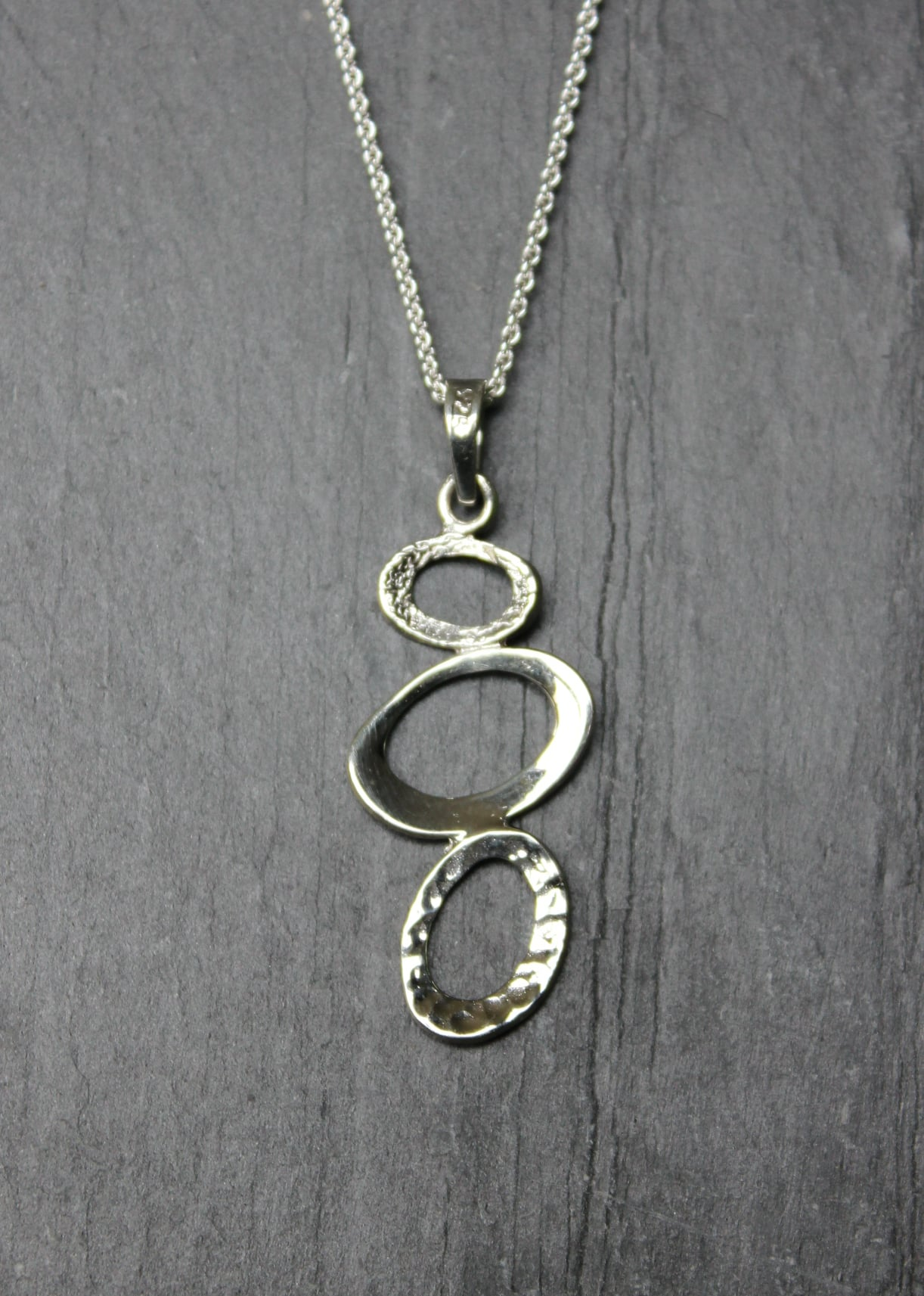 Designer silver jewellerysilver pendantsgifts for women ladies gifts stirling silver designer jewellery by chris lewis ovals drop pendant aloadofball Image collections